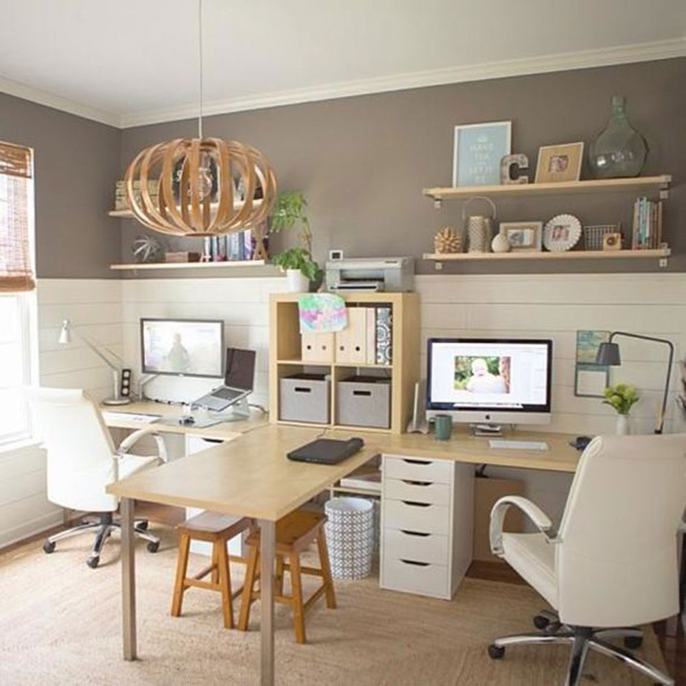 T-Desk Modern home office ideas with which you can create your perfect space