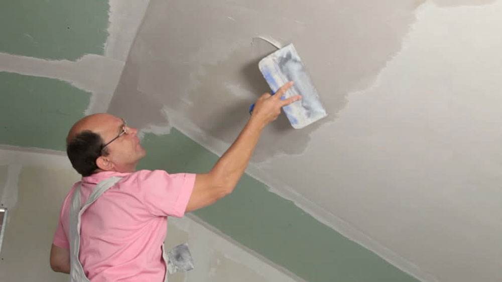 Wallboard knife How to repair plaster walls and ceilings in your house