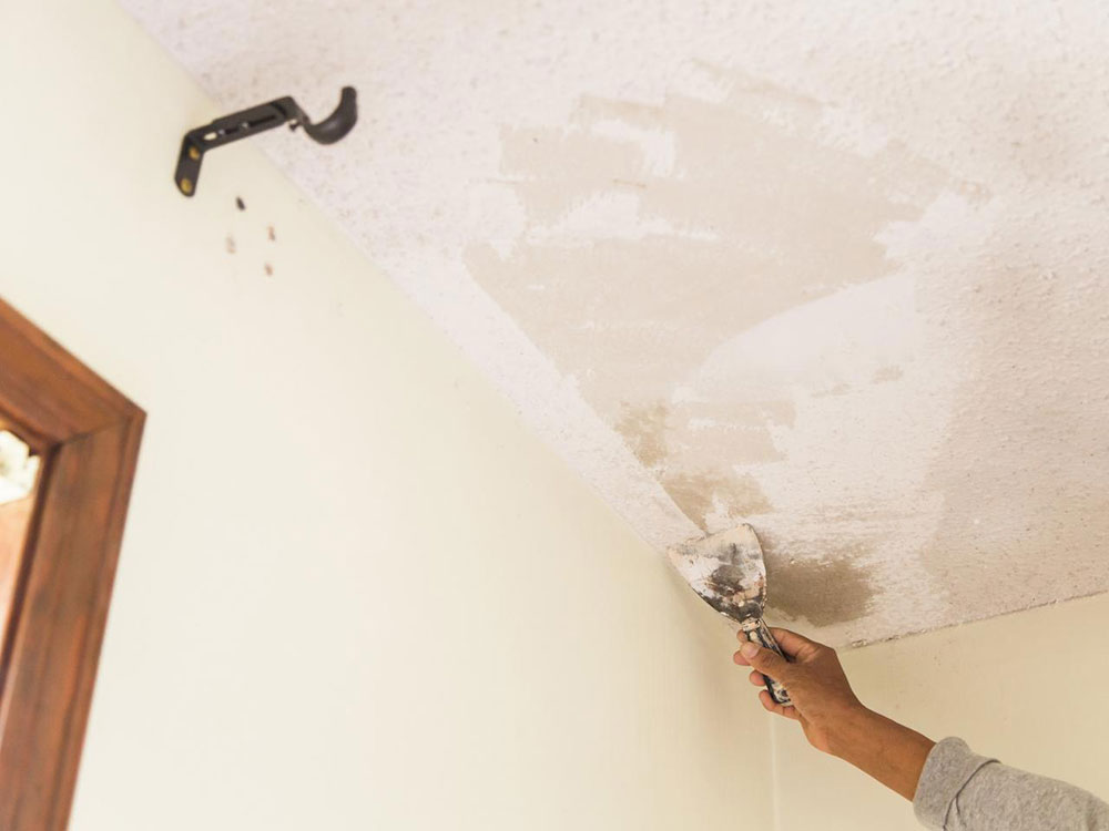Finish How to repair plaster walls and ceilings in your home