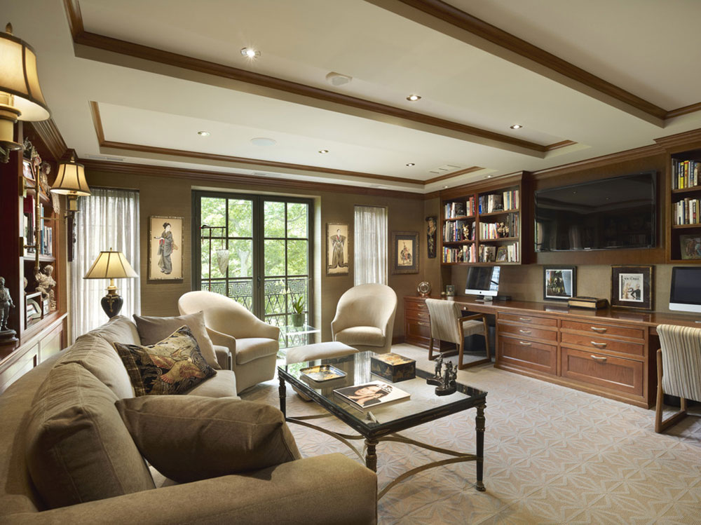 Rittenhouse-Square-Study-by-Wyant-Architecture Living Room vs. Family Room, what's the difference?