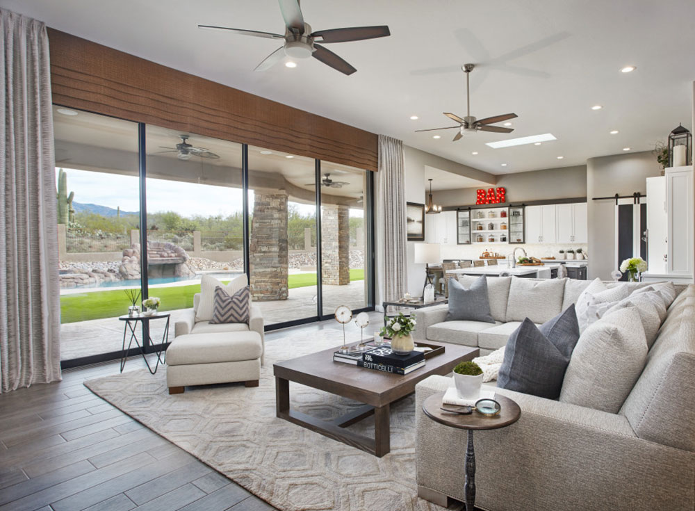 Family-friendly design by Fine Art Interiors living room vs.  Family room, what's the difference?