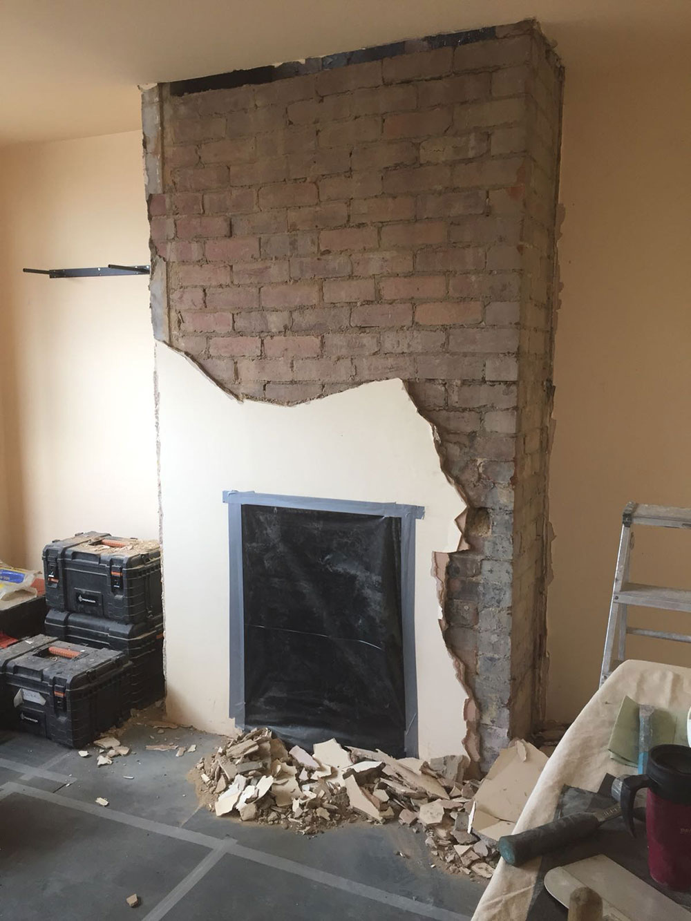 Chimney removal How to remove a chimney when you no longer need it
