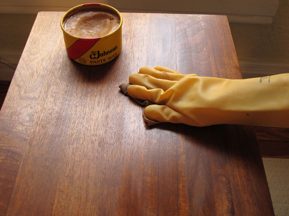 polishing How to remove candle wax from walls and wood