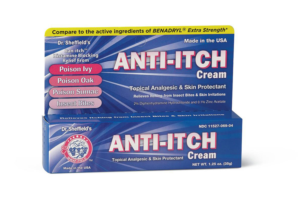 Anti-itch cream How to easily remove the fiberglass insulation from the skin