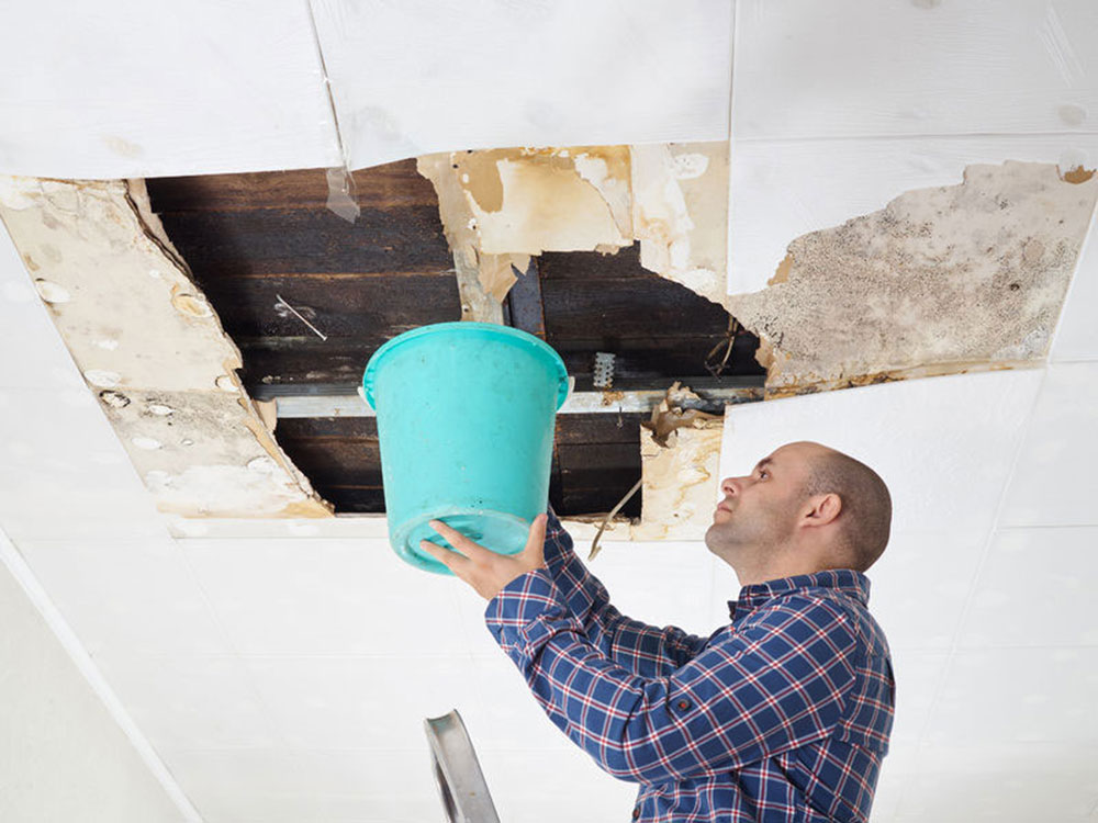 leaky room How to repair a leaky roof from the inside (quick tips)