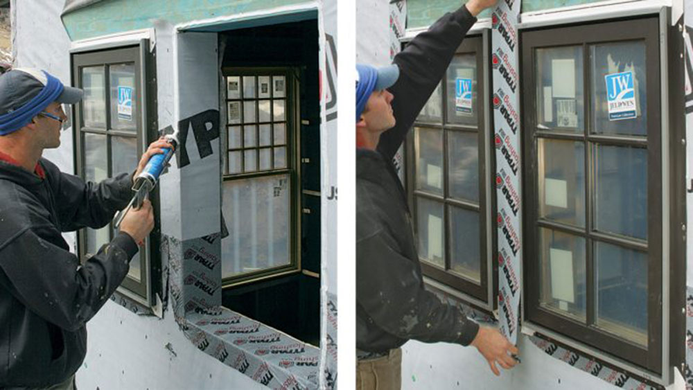 taping1 How to install a blinking window without errors