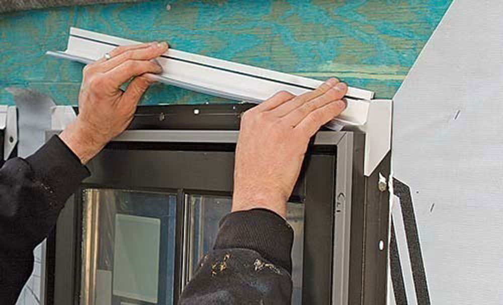 shingles1 How to install a blinking window without errors