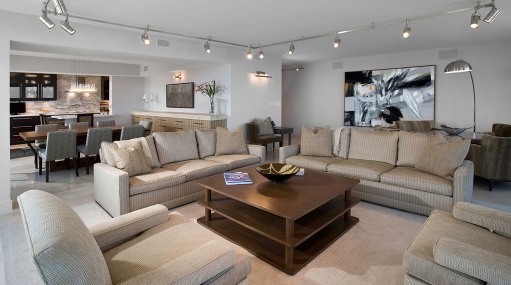 Living-Room-by-Fredman-Design-Group How to illuminate a living room without ceiling lighting
