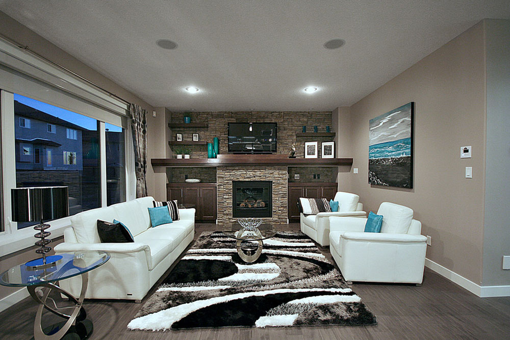 Cameron-model-Show-Home-by-Rococo-Homes-Inc How to illuminate a living room without ceiling lighting