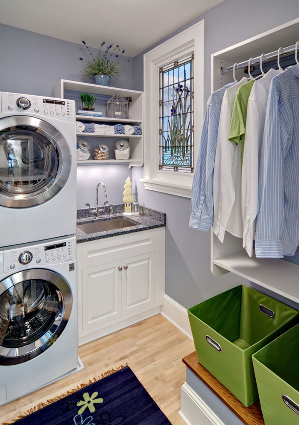 ASID-Showcase-House-Laundry-by-crystal-kitchen bathroom How do I organize a laundry room?  Some storage ideas