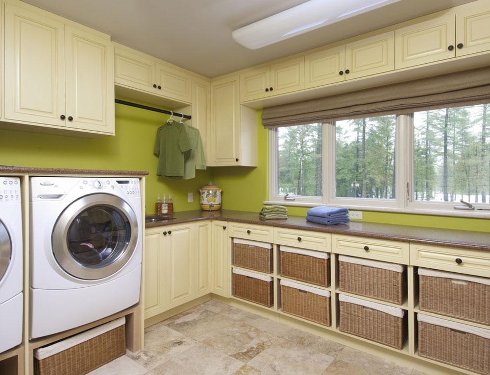Carlisle-Laundry-by-Laurysen-Kitchens-Ltd.  How do I organize a washroom?  Some storage ideas