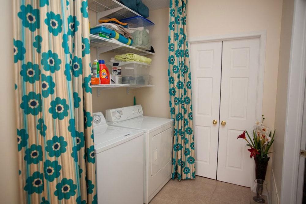 Hiding the laundry room of Toronto designers How do I organize a laundry room?  Some storage ideas