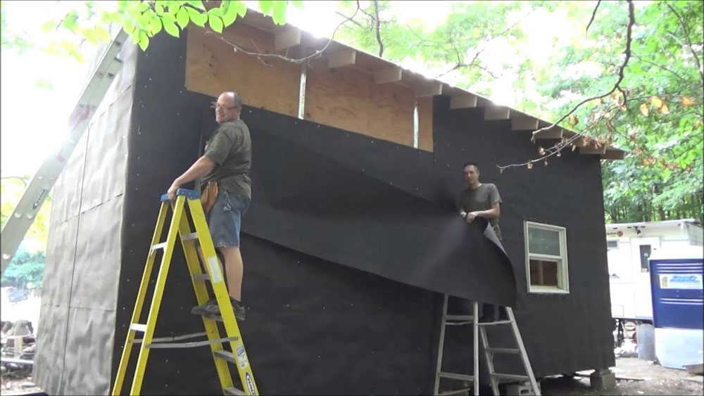 Tar paper How to install the house packaging correctly and do not mess it up