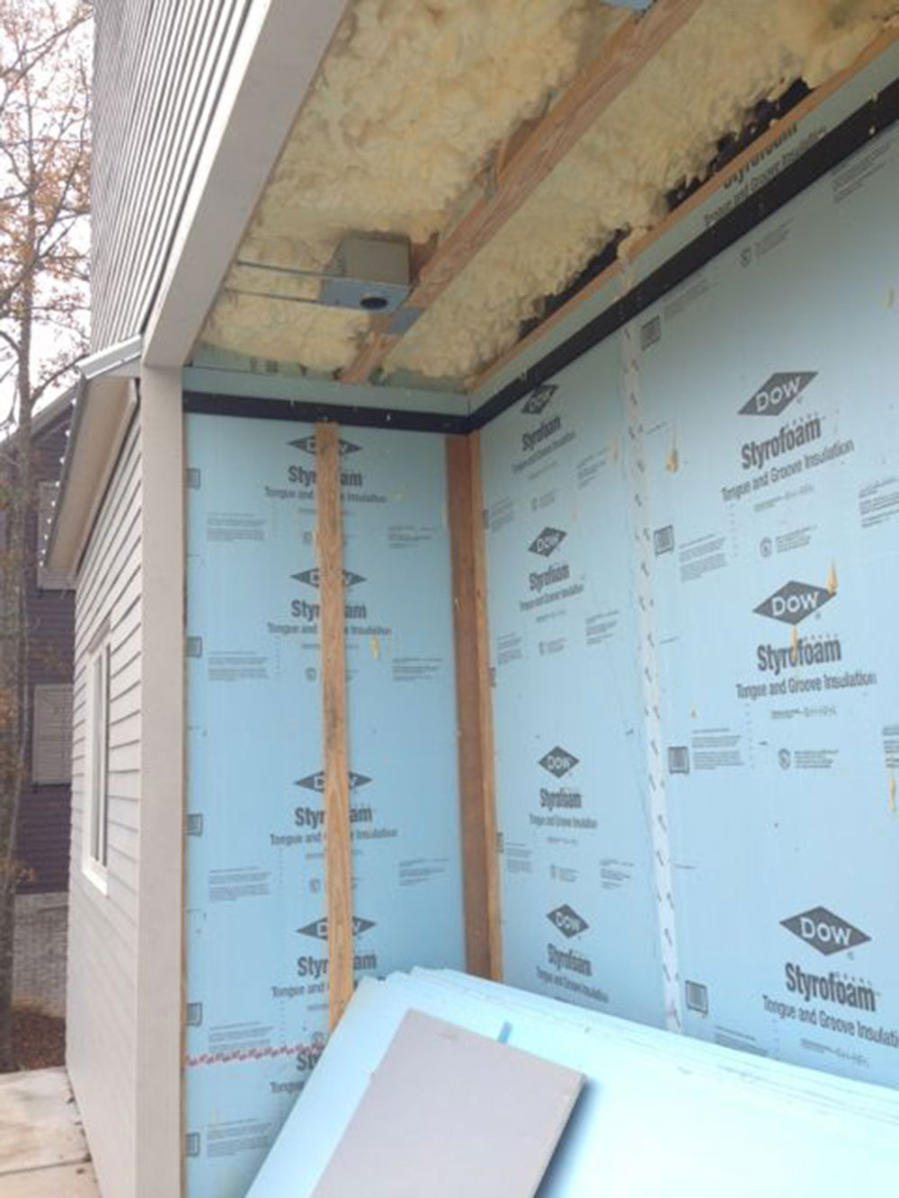WRB sheathing How to install the house packaging correctly and do not mess it up