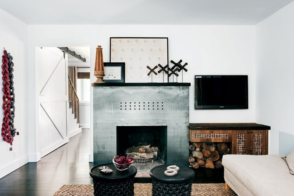 Steel-Modern-Fireplace-by-California-Home-and-Design How to redesign a fireplace to look fantastic