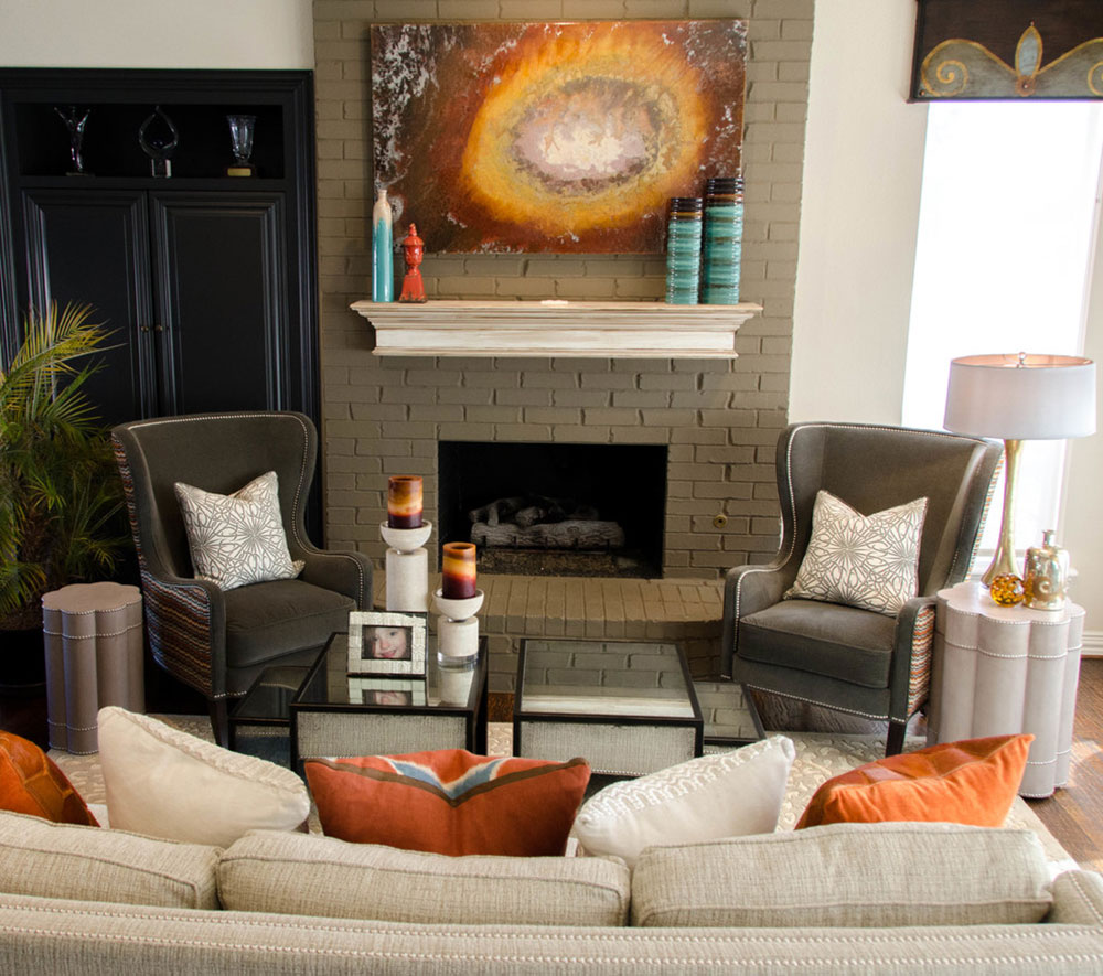 Olivias-Family-Room-by-Kevin-Twitty-Interiors How to redesign a fireplace to look awesome
