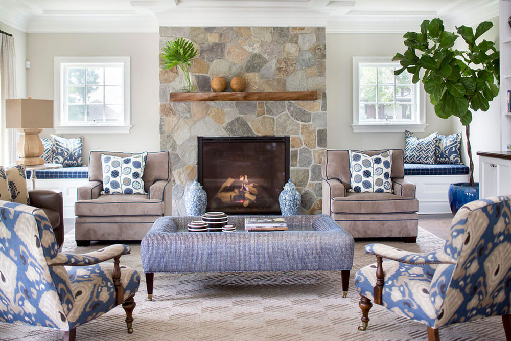 Rye-Transitional-Home-by-Lorraine-Levinson-Interior-Design How to redesign a fireplace to look fantastic