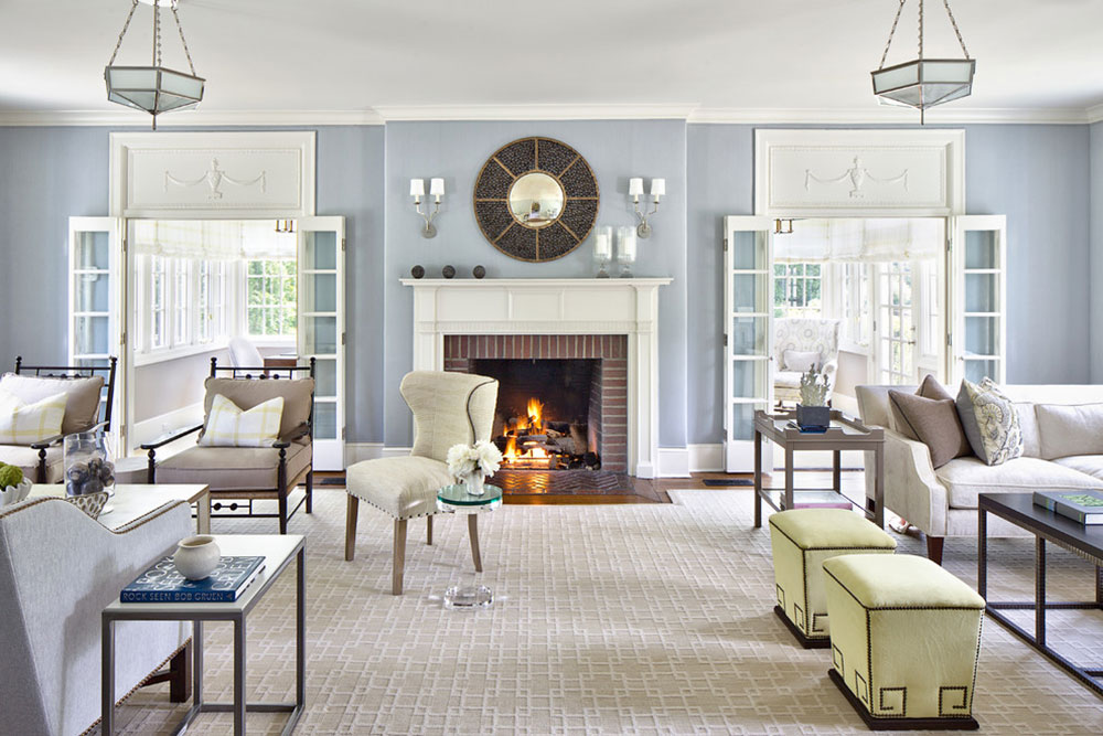 Living room-by-Alisberg-Parker How to redesign a fireplace to look fantastic