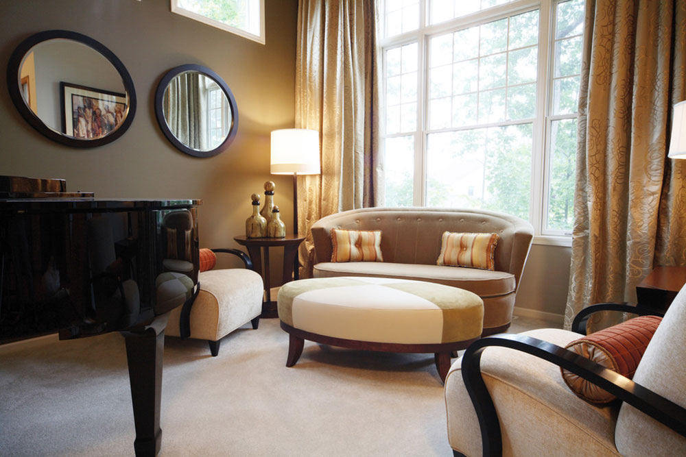 Soft-Contemporary-Living-Room-by-Herrick-Design-Group How to arrange furniture in an uncomfortable living room
