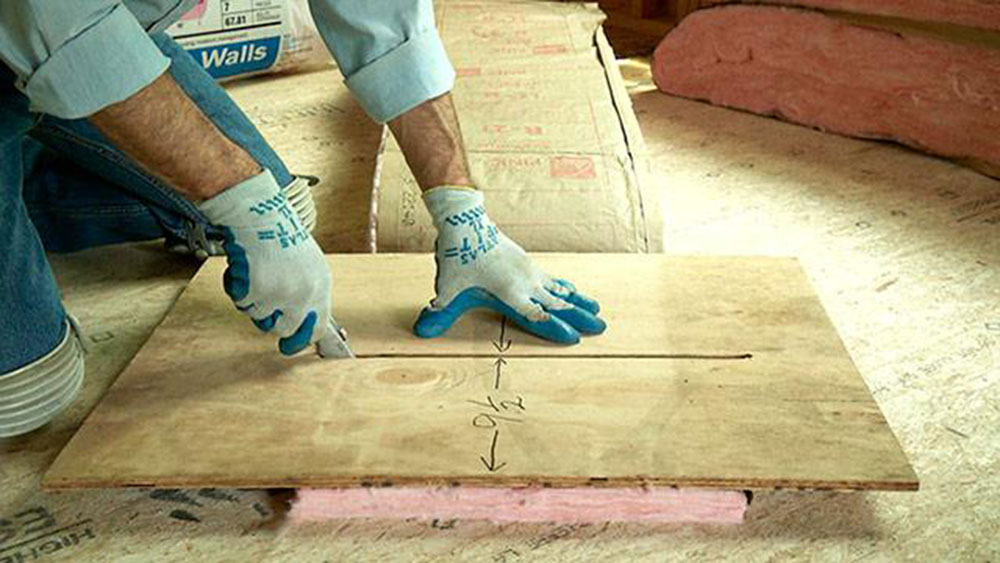 Fiber How to cut fiber insulation without problems