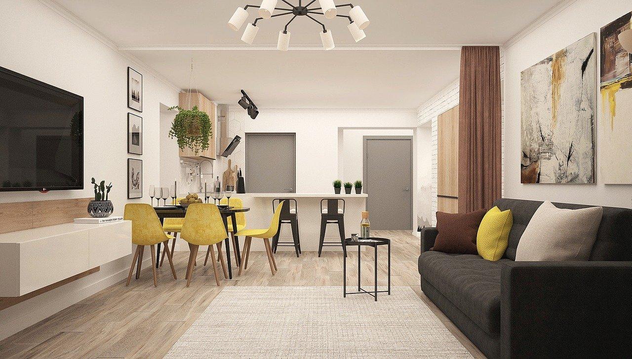 Kitchen-living room-4043091_1280-1 7 design trends in residential properties