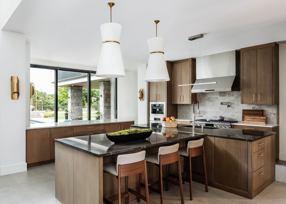 Hayes-Home-2019-by-Cornerstone-Homes-by-Chris-Moock-LLC Decorating ideas for a kitchen with breakfast bar