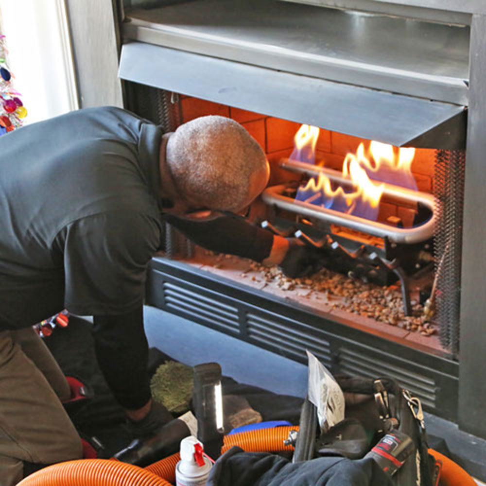 Kiln How to properly clean a gas fireplace (good maintenance tips)