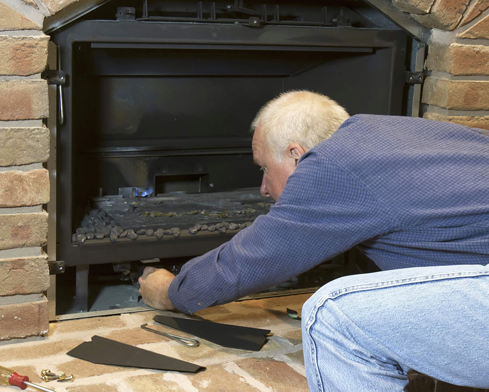 fireplace_repair How to clean a gas fireplace properly (good maintenance tips)