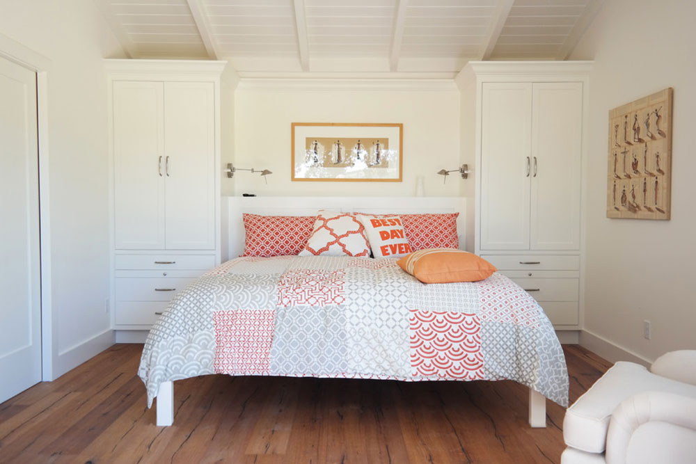 Weinberg-Gästehaus-von-Marcus-n-Willers-Architekten How to arrange a small bedroom with a queen-size bed