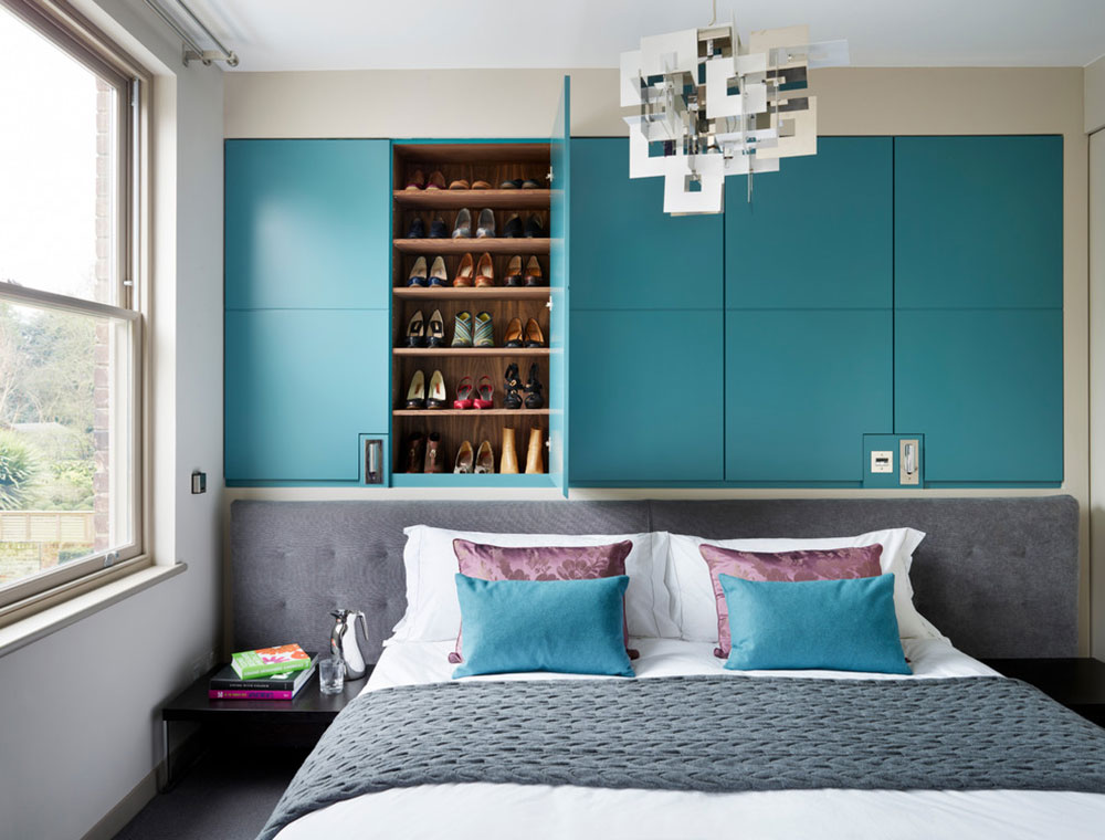 Lighting-by-Ensoul-Ltd How to arrange a small bedroom with a queen-size bed