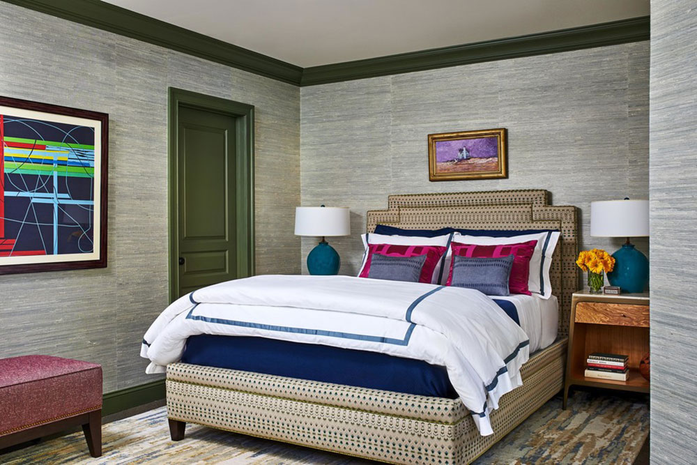 Logan-Townhouse-by-DANE-AUSTIN-INTERIOR-Boston-and-Cambridge How to arrange a small bedroom with a queen-size bed