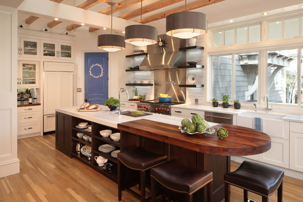 Observatory-Park-Contemporary-Kitchen-by-Kitchen-Distributors How much does a kitchen island cost?  Answered quickly