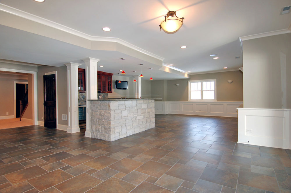 Finished Basement-by-Cypress-Hill-Development-LLC How much does it cost to build a basement for your home?