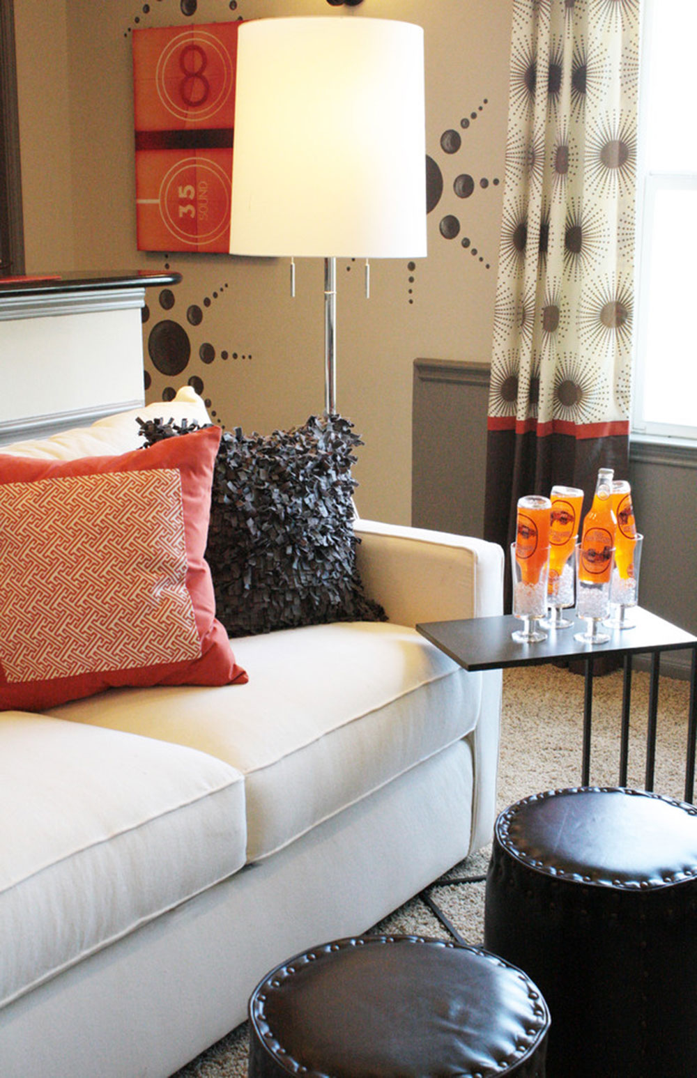 Media-room-by-Cristi-Holcombe-Interiors-LLC How to decorate a living room without a coffee table