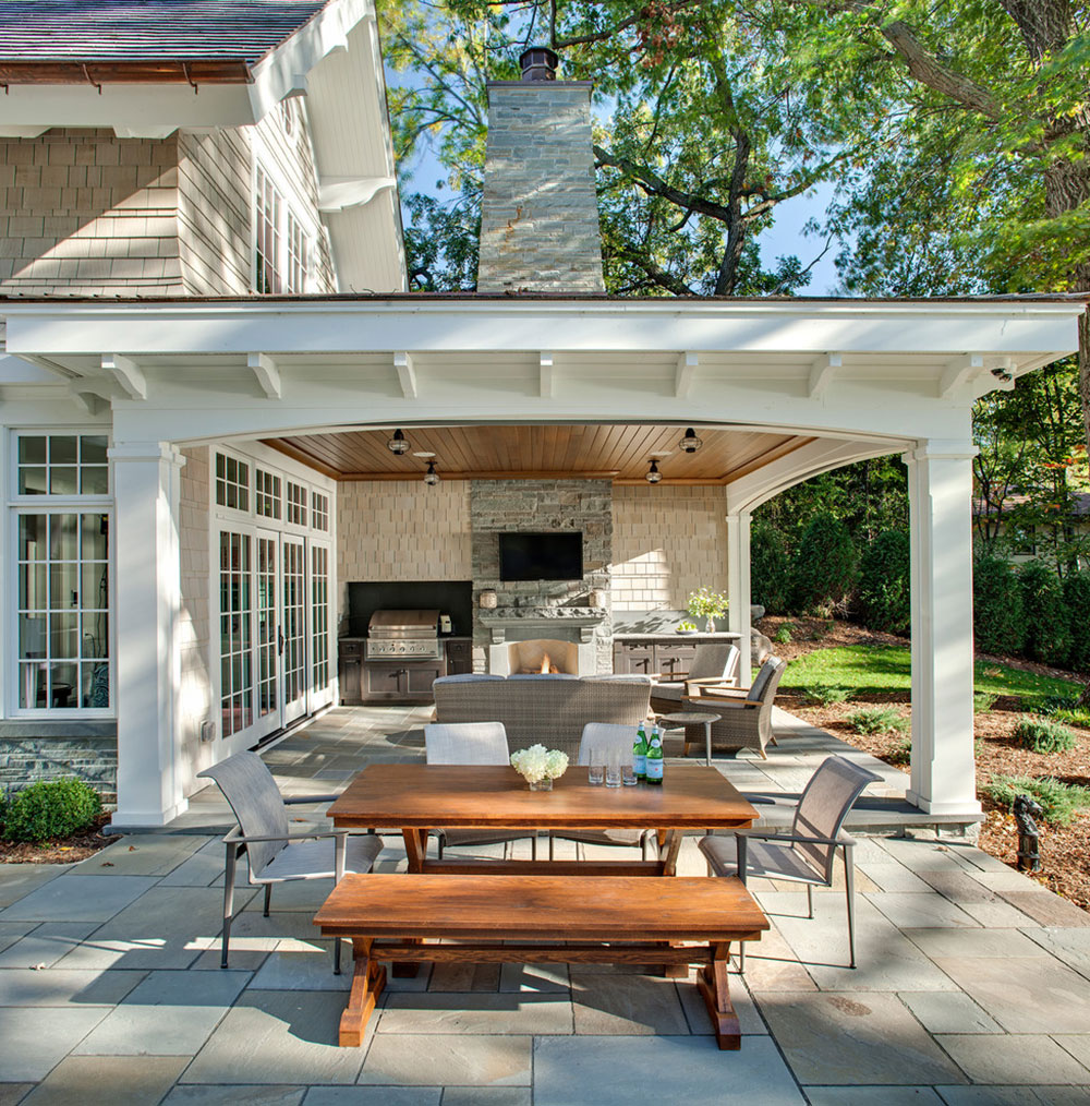 Carman-Bay-Cottage-Lake-Minnetonka-by-John-Kraemer-and-Sons How to attach a patio roof to an existing house