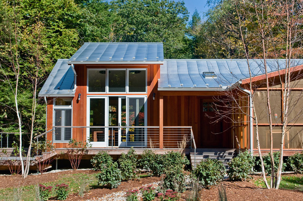 Mountain Loft by Littlewolf Architecture How much does a metal roof cost on average?  Answer inside