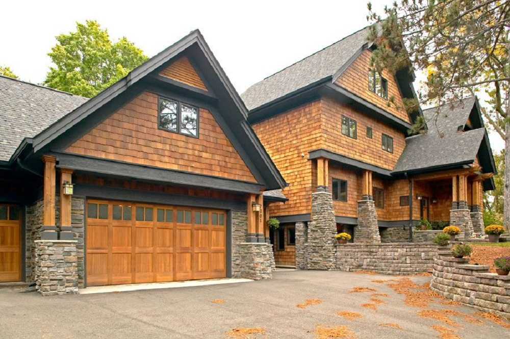 t8-11 types of wood paneling that you can use on the outside of your home