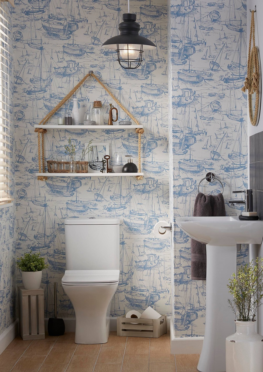 t1-75 The fantastic nautical bathroom decor and pictures that inspire you