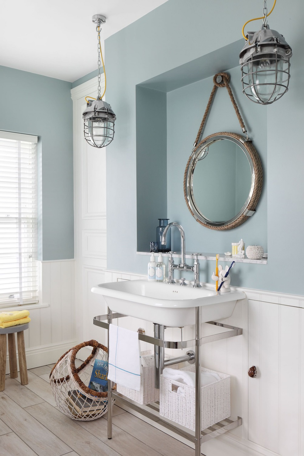 t1-78 The fantastic nautical bathroom decor and pictures that inspire you