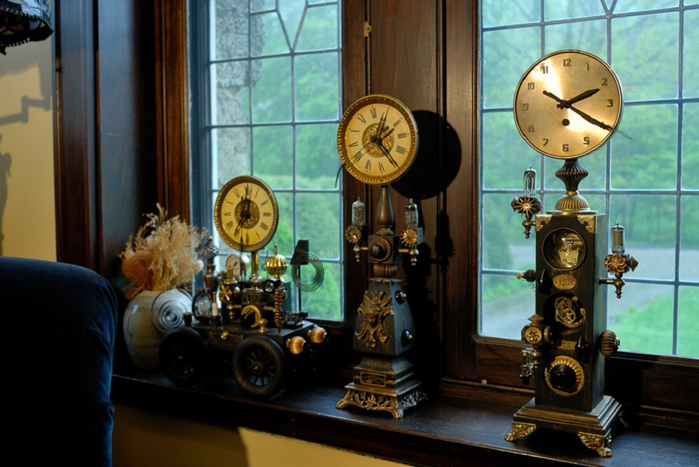 t1-94 The steampunk color palette and the colors for your room decoration