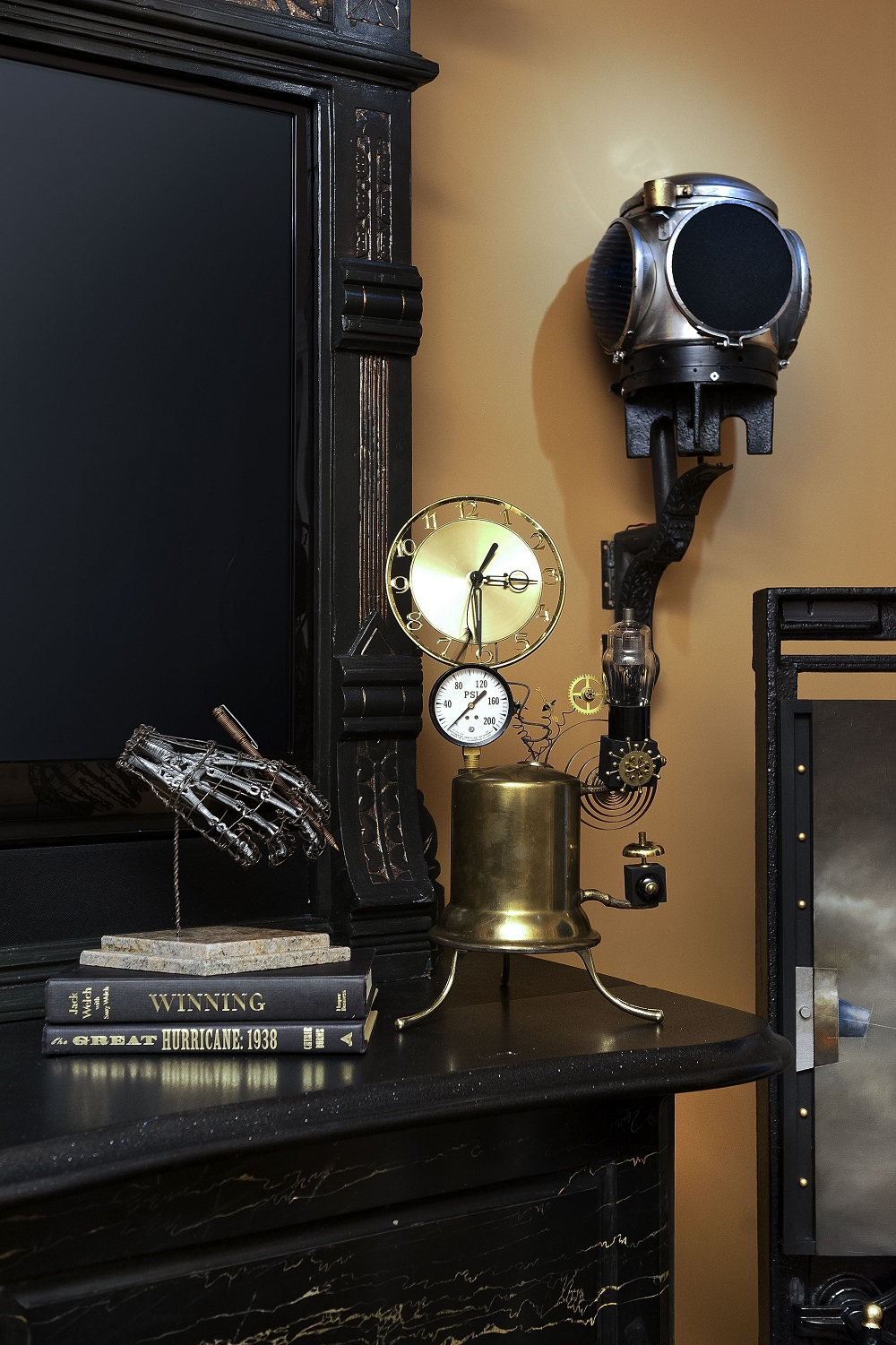 t1-91 The Steampunk color palette and colors for your room decor