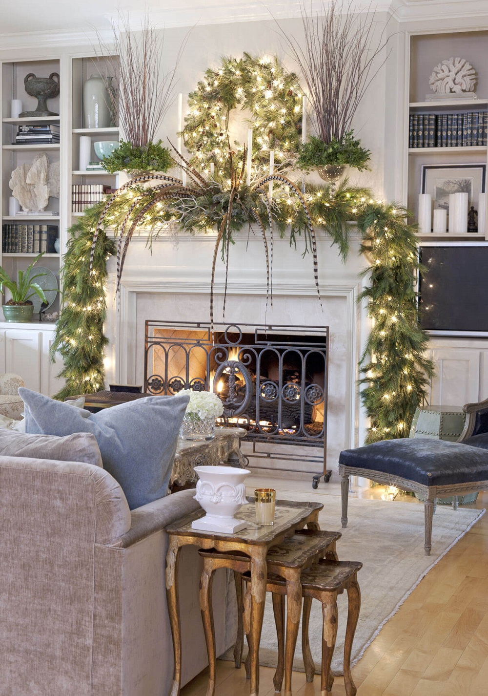 t4-6 Christmas decorations in the living room that you have to try during the holiday season