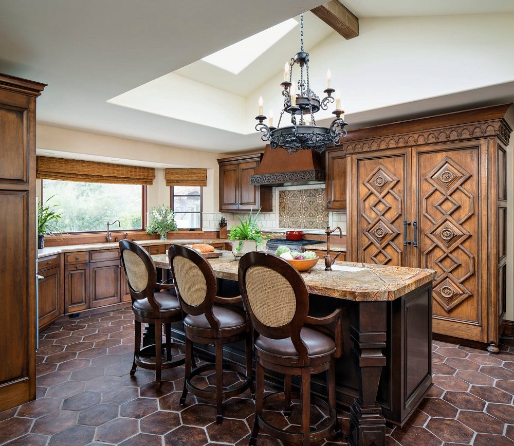 t7 Try a Spanish-style kitchen.  Here are some amazing decorating ideas