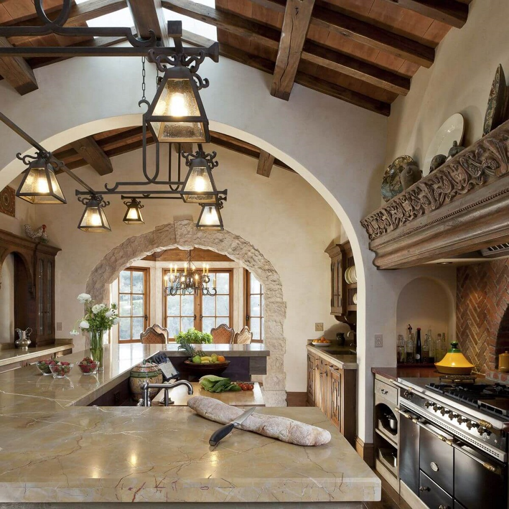 t7-6 Try a Spanish style kitchen.  Here are some amazing decorating ideas