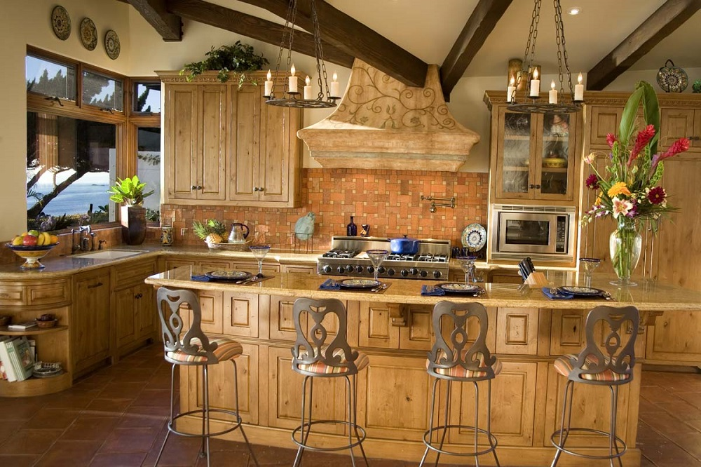 t7-5 Try a Spanish style kitchen.  Here are some amazing decorating ideas