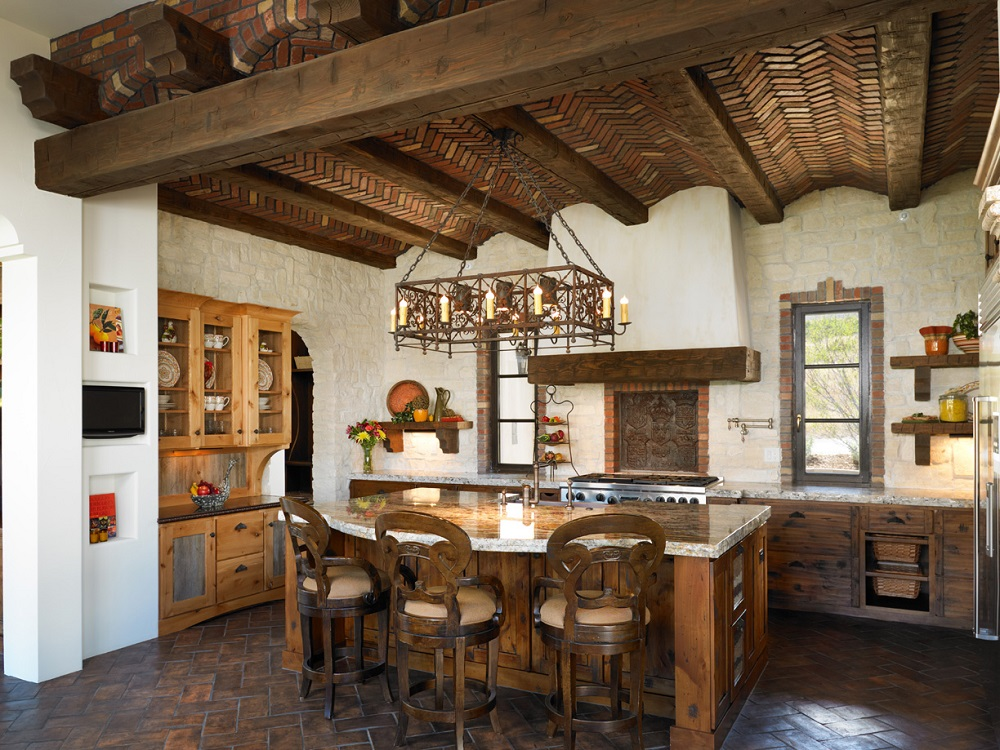 t7-7 Try a Spanish style kitchen.  Here are some amazing decorating ideas