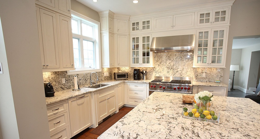 t3-120 white ice granite countertops, inspiration and tips for using them