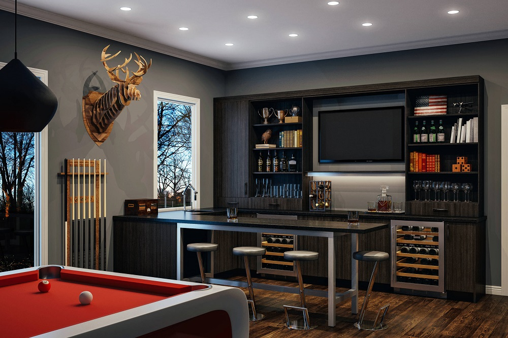 t2-99 Man Cave decor ideas, decorations and accessories to enhance the place