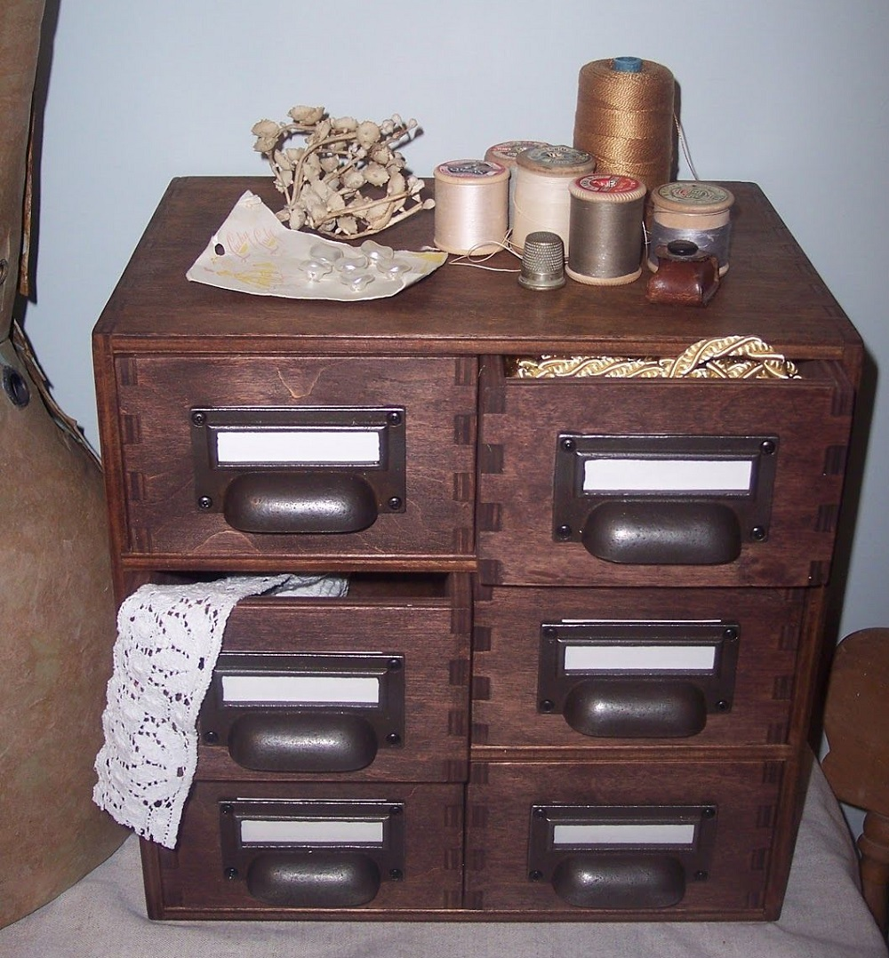 t3-68 How to use a vintage pharmacy cabinet in your home decor