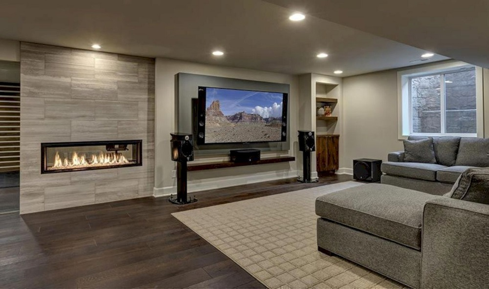 b15-1 How to finish a basement and make it look incredibly cool